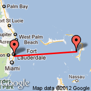 Fort Lauderdale (Fort Lauderdale/hollywood International, FLL) - Green Turtle Cay (Green Turtle, GTC)