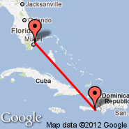 Fort Lauderdale (Fort Lauderdale/hollywood International, FLL) - Jacmel (JAK)