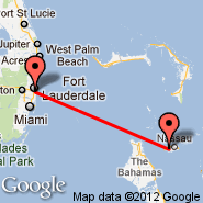 Fort Lauderdale (Fort Lauderdale/hollywood International, FLL) - Nassau (Nassau International, NAS)