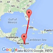 Fort Lauderdale (Fort Lauderdale/hollywood International, FLL) - Corn Island (RNI)