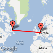 Frankfurt (Frankfurt International Airport, FRA) - Newfoundland and Labrador (CANL)
