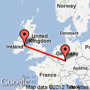 Frankfurt (Frankfurt International Airport, FRA) - Dublin (Dublin International Airport, DUB)