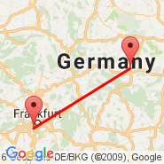 Frankfurt (Frankfurt International Airport, FRA) - Erfurt (Binderslebn, ERF)