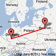 Frankfurt (Frankfurt International Airport, FRA) - Minsk (Minsk International 2, MSQ)