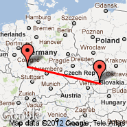 Frankfurt (Frankfurt International Airport, FRA) - Piestany (PZY)