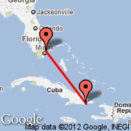 Guantanamo (Los Canos, GAO) - Fort Lauderdale (Fort Lauderdale/hollywood International, FLL)