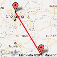 Guanghan (Chongdu/Changhan, GHN) - Guilin (Liangjiang International Airport, KWL)