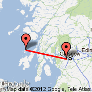 Glasgow (Glasgow International, GLA) - Colonsay/Hebrides (Isle Of Colonsay, CSA)