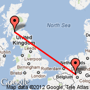 Glasgow (Glasgow International, GLA) - Krefeld (QKF)