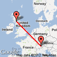 Glasgow (Glasgow International, GLA) - Vaduz (QVU)
