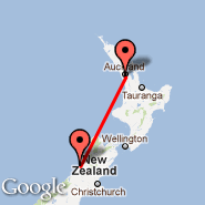 Greymouth (GMN) - Auckland (Auckland International, AKL)