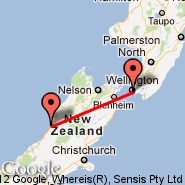 Greymouth (GMN) - Wellington (Wellington International, WLG)