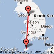 Seoul (Gimpo International, GMP) - Jeju (Jeju Airport, CJU)