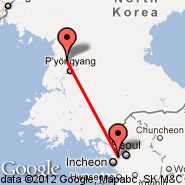Seoul (Gimpo International, GMP) - Pyongyang (Sunan International, FNJ)