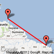 Grenada (Point Salines International, GND) - Fortaleza (Pinto Martins, FOR)