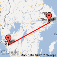 Gothenburg (Landvetter, GOT) - Stockholm (Metropolitan Area, STO)
