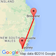 Goulburn (GUL) - Brisbane (Brisbane International, BNE)