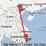 Hanoi (Noibai International, HAN) - Phan Thiet (PHH)