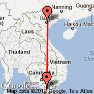 Hanoi (Noibai International, HAN) - Can Tho (International (Tr, VCA)