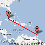 Havana (Jose Marti Intl, HAV) - Grenada (Point Salines International, GND)