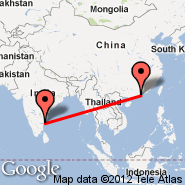 Hong Kong (Hong Kong International, HKG) - Chennai/Madras (Madras International, MAA)