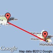 Honolulu/Oahu (Honolulu International, HNL) - Lihue/Kauai (Lihue, LIH)