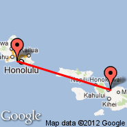 Honolulu/Oahu (Honolulu International, HNL) - Kahului/Maui (Kahului, OGG)
