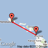 Honolulu/Oahu (Honolulu International, HNL) - Upolu Point (Upolu Airport, UPP)