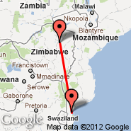 Harare (Harare International Airport, HRE) - Maputo (Maputo International, MPM)