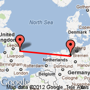 Hull (Humberside International, HUY) - Bremen (Neuenland, BRE)