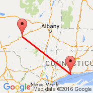 New Haven (Tweed-New Haven Airport, HVN) - Oneonta (Municipal, ONH)