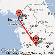 Seoul (Incheon International, ICN) - Jeonju (CHN)