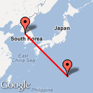 Seoul (Incheon International, ICN) - Iwo Jima (Iwo Jima Airbase, IWO)