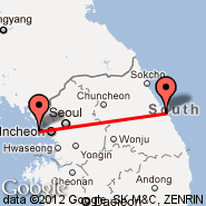 Seoul (Incheon International, ICN) - Gangneung (KAG)