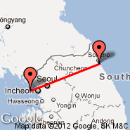 Seoul (Incheon International, ICN) - Sokcho (Seolak, SHO)