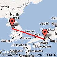 Seoul (Incheon International, ICN) - Kyoto (Kansai, UKY)