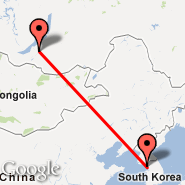 Seoul (Incheon International, ICN) - Ulan-Ude (Ulan-ude, Mukhino, UUD)