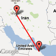 Isfahan (Isfahan International, IFN) - Muscat (Seeb, MCT)