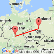 Ingolstadt-manching (Manching, IGS) - Wroclaw (Copernicus Airport, WRO)