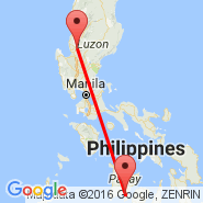 Iloilo (Iloilo International, ILO) - Baguio (Loakan, BAG)