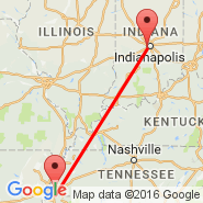 Indianapolis (Indianapolis International, IND) - Memphis (Memphis International, MEM)