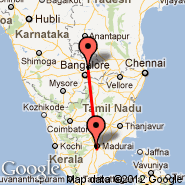 Madurai (IXM) - Bangalore (Bangalore International Airport, BLR)