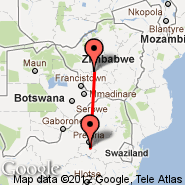 Johannesburg (Oliver Reginald Tambo International, JNB) - Bulawayo (Joshua Mqabuko Nkomo International Airport, BUQ)