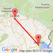 Juliaca (JUL) - Cuzco (Velazco Astete, CUZ)
