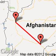 Kandahar (Kandahar International Airport, KDH) - Herat (HEA)