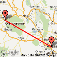 Kericho (KEY) - Nairobi (Jomo Kenyatta International, NBO)
