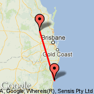 Kingaroy (KGY) - Coffs Harbour (CFS)