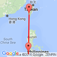 Kaohsiung (Kaoshiung International Airport, KHH) - Coron (Coron Airport, XCN)