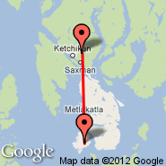 Ketchikan (International, KTN) - Annette Island (Annette Island Airport, ANN)
