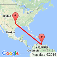 La Guaira (LAG) - Dallas (Dallas/Fort Worth International, DFW)